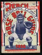 Reach Official Baseball Guide-1936-great Condition-super Rare-mlb