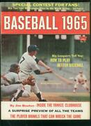 Baseball-1965 Yearbook-mickey Mantle-player Brawls-ny M Fn/vf