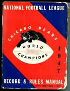 National Football League Record And Rules Manual Media Guide-1949-nfl-g