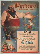 Pinocchioand039s Christmas Party 1939-walt Disney-donald Duck-mickey Mouse-g