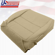 For 2004-08 Acura Tl Driver Bottom Replacement Seat Cover Perforated Leather Tan