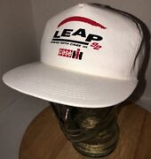 Vtg Case Ih 90s Usa K-products White Hat Cap Snapback 1992 Leap Ahead With