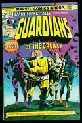 Astonishing Tales 29 1975-1st Guardians Of The Galaxy Reprint Hot Book Fn/vf