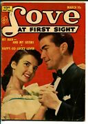 Love At First Sight 20 1953-ace-pick-up Date-canadian Variant-rare-vg