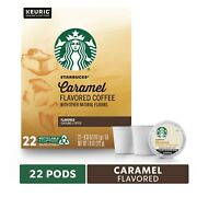 Starbucks Caramel Coffee 22 To 132 Count Keurig K Cups Pick Any Quantity