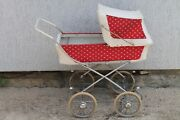 Vintage Old Chech Toys For Childrenand039s Doll Baby Riding Stroller