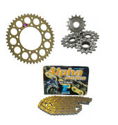 Triumph Tiger 800 X/xc/xcx/xr 2015-2016 Renthal And Tsubaki Chain And Sprocket Kit