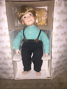 Ethan Porcelain Doll 1st Issue In The Amish Inspration Ashton-drake Galleries