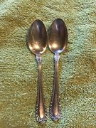 Gorham 1896 Winthrop Mermod Jaccard Electroplate Silver Spoons
