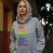 Science Is Real Black Lives Matter Love Is Love Equality Women Hoodie Gift Idea