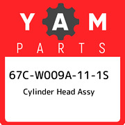 67c-w009a-11-1s Yamaha Cylinder Head Assy 67cw009a111s New Genuine Oem Part