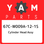 67c-w009a-12-1s Yamaha Cylinder Head Assy 67cw009a121s New Genuine Oem Part