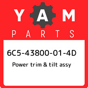 6c5-43800-01-4d Yamaha Power Trim And Tilt Assy 6c543800014d New Genuine Oem Part