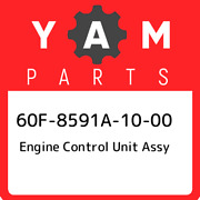60f-8591a-10-00 Yamaha Engine Control Unit Assy 60f8591a1000 New Genuine Oem Pa