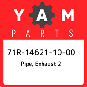 71r-14621-10-00 Yamaha Pipe Exhaust 2 71r146211000 New Genuine Oem Part