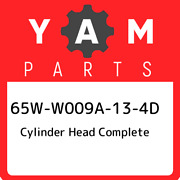 65w-w009a-13-4d Yamaha Cylinder Head Complete 65ww009a134d, New Genuine Oem Part