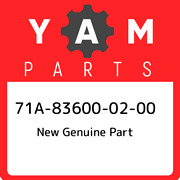 71a-83600-02-00 Yamaha New Genuine Part 71a836000200, New Genuine Oem Part