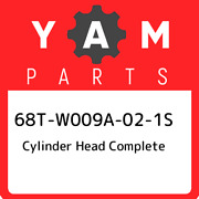 68t-w009a-02-1s Yamaha Cylinder Head Complete 68tw009a021s, New Genuine Oem Part
