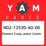 N02-12530-a0-00 Yamaha Element Comp.water Cooler N0212530a000 New Genuine Oem