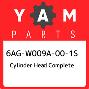 6ag-w009a-00-1s Yamaha Cylinder Head Complete 6agw009a001s, New Genuine Oem Part