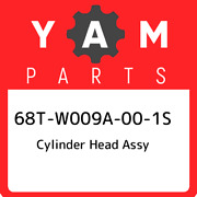 68t-w009a-00-1s Yamaha Cylinder Head Assy 68tw009a001s New Genuine Oem Part