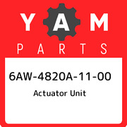 6aw-4820a-11-00 Yamaha Actuator Unit 6aw4820a1100, New Genuine Oem Part