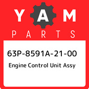 63p-8591a-21-00 Yamaha Engine Control Unit Assy 63p8591a2100 New Genuine Oem Pa