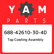 688-42610-30-4d Yamaha Top Cowling Assembly 68842610304d New Genuine Oem Part