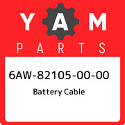 6aw-82105-00-00 Yamaha Battery Cable 6aw821050000 New Genuine Oem Part