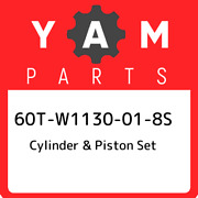 60t-w1130-01-8s Yamaha Cylinder And Piston Set 60tw1130018s New Genuine Oem Part
