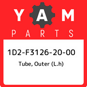 1d2-f3126-20-00 Yamaha Tube Outer L.h 1d2f31262000 New Genuine Oem Part
