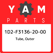 1d2-f3136-20-00 Yamaha Tube Outer 1d2f31362000 New Genuine Oem Part