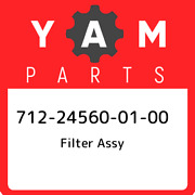712-24560-01-00 Yamaha Filter Assy 712245600100 New Genuine Oem Part