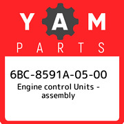 6bc-8591a-05-00 Yamaha Engine Control Units - Assembly 6bc8591a0500 New Genuine