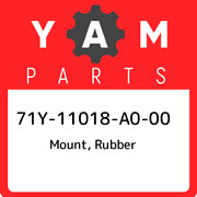 71y-11018-a0-00 Yamaha Mount Rubber 71y11018a000 New Genuine Oem Part