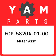 F0p-6820a-01-00 Yamaha Meter Assy F0p6820a0100 New Genuine Oem Part