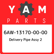 6aw-13170-00-00 Yamaha Delivery Pipe Assy 2 6aw131700000 New Genuine Oem Part