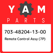703-48204-13-00 Yamaha Remote Control Assy 7p 703482041300 New Genuine Oem Pa
