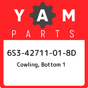 6s3-42711-01-8d Yamaha Cowling Bottom 1 6s342711018d New Genuine Oem Part