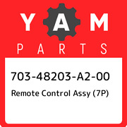 703-48203-a2-00 Yamaha Remote Control Assy 7p 70348203a200 New Genuine Oem Pa
