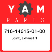 716-14615-01-00 Yamaha Joint Exhaust 1 716146150100 New Genuine Oem Part