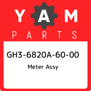 Gh3-6820a-60-00 Yamaha Meter Assy Gh36820a6000 New Genuine Oem Part