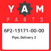 6p2-13171-00-00 Yamaha Pipe Delivery 2 6p2131710000 New Genuine Oem Part