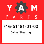 F1g-61481-01-00 Yamaha Cable Steering F1g614810100 New Genuine Oem Part