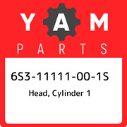6s3-11111-00-1s Yamaha Head Cylinder 1 6s311111001s New Genuine Oem Part