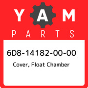 6d8-14182-00-00 Yamaha Cover Float Chamber 6d8141820000 New Genuine Oem Part