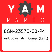 8gn-23570-00-p4 Yamaha Front Lower Arm Comp. Left 8gn2357000p4 New Genuine Oe