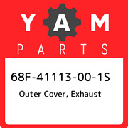 68f-41113-00-1s Yamaha Outer Cover Exhaust 68f41113001s New Genuine Oem Part