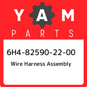 6h4-82590-22-00 Yamaha Wire Harness Assembly 6h4825902200 New Genuine Oem Part