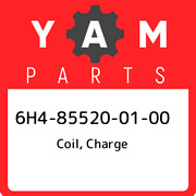 6h4-85520-01-00 Yamaha Coil Charge 6h4855200100 New Genuine Oem Part